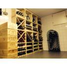 Casiers à bouteilles, le système de stockage, beau et très pratique! Très attrayant!