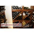 Beaux casiers à vin Kabinett, le système modulaire pour votre boutique. Très attrayant!