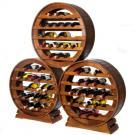 Étagères à vin Merlot sont faciles à empiler.