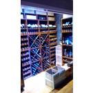 La parois Kabinett : beaux casiers à vin, le système modulaire!