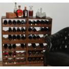 Casiers à bouteilles, le système de stockage, beau et très pratique!
