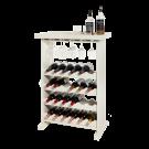Étagère à vin Pinot peut accueillir 24 bouteilles de vin et ca. 15 verres.
