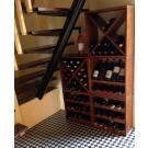 Casiers  à vin en bois, le beau système de stockage flexible!