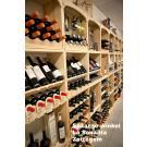 Kabinett : beaux casiers à vin, le système modulaire! Belle présentation de votre vin.