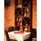 Système Kabinett de stockage du vin peut être étendue de déployer dans un restaurant.