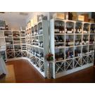 Beaux casiers à vin Kabinett blanc perlé, le système modulaire pour votre restaurant.