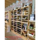 Kabinett : beaux casiers à vin, le système modulaire pour votre boutique. Belle présentation de votre vin.