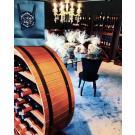 Étagère à vin Merlot dans le boutique La Bottega del Vino