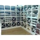 Beaux casiers à bouteilles, le système modulaire pour votre boutique. Belle présentation de votre vin.