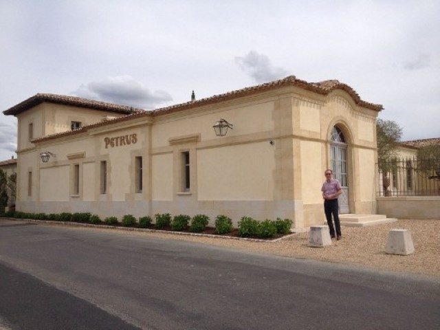 Chateau Petrus in Pomerol