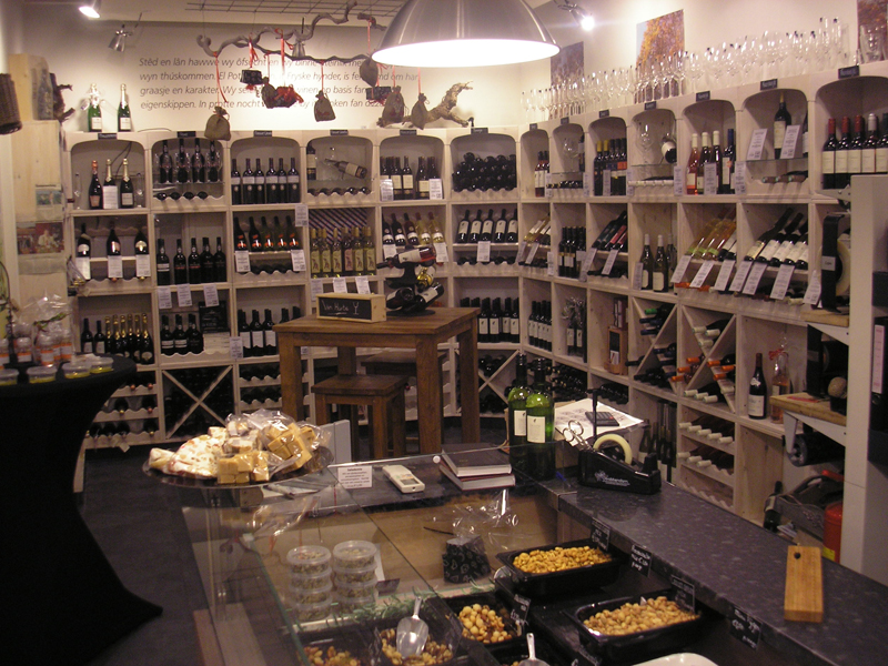 Wine Rack pour magasin ou un restaurant