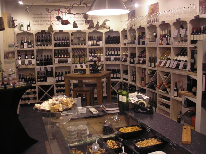 Casiers à vin pour votre magasin et restaurant.